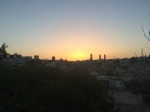 Amman at sunset.
