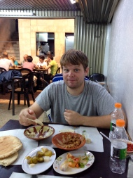 Food in the Old City of Amman is so good that it apparently made my right eye go lazy. It returned to its normal state after digestion.