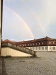 Double rainbow at Solitude.