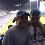 Right after Salvador Perez came through with the 12th-inning game-winner to eliminate the A's.
