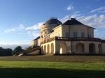 A farewell photo of Schloss Solitude.