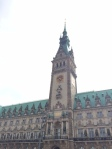 Hamburg Rathaus.