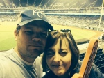 At the World Series with Nicole.