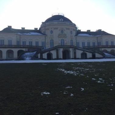 Frozen Schloss.