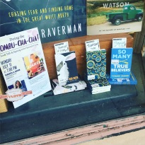 The front window at Magers & Quinn in Minneapolis