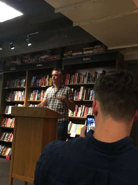 Ty reading at Boswell Book Co.