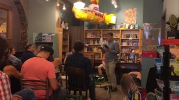 My turn to read at Indigo Bridge Books in Lincoln.