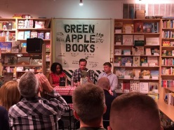 Leg 2 begins at Green Apple Books on the Park in San Francisco.