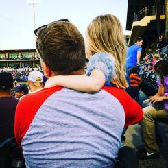 "We found time for ""Daddy & Princess Night"" at Werner Park in Omaha."
