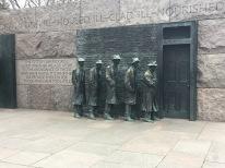 At the FDR Memorial.