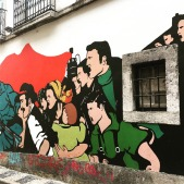 Mural in Bairro Alto, Lisbon.