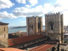 View from Aljube, Lisbon.