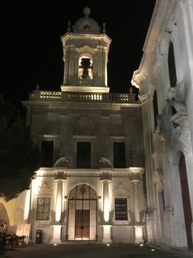 Church at Miradouro Sophia de Mello Breyner Andresen, Lisbon.