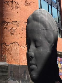2D sculpture, Barcelona.