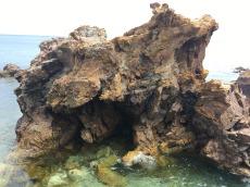 Crazy sea boulders, Cascais.