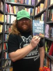 Super-friend Darren finding a copy at the Strand.