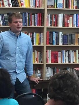 Q&A at the Bookworm.