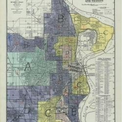 Omaha redlining map